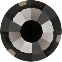 Rose Rhinestone Hotfix ss16 Black Diamond HF