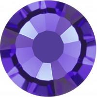 Rose Rhinestone Hotfix ss16 Purple Velvet HF