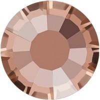 Rose Rhinestone Hotfix ss20 Crystal Apricot HF