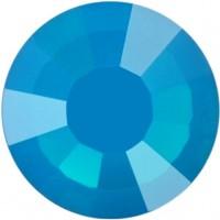 Rose Rhinestone Hotfix ss20 Caribbean Blue Opal HF