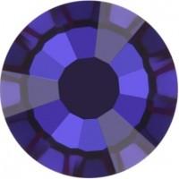 Rose Rhinestone Hotfix ss30 Crystal Meridian Blue HF
