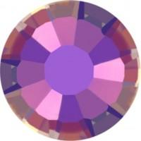 Rose Rhinestone Hotfix ss30 Crystal Paradise Shine HF