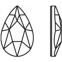 Pear Hotfix 8x5mm Crystal HF