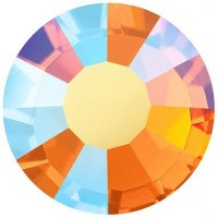 VIVA12 Rose Rhinestone lead free ss10 (2.8mm) Sun AB F (90310AB)