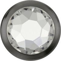 Xirius Rose Framed Hotfix Rhinestone ss34 Crystal HF Silver Ring (SR)