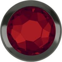 Xirius Rose Framed Hotfix Rhinestone ss20 Light Siam HF Gold Ring (GR)
