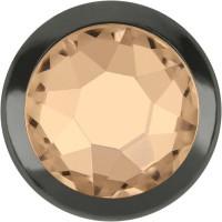 Xirius Rose Framed Hotfix Rhinestone ss16 Silk HF Silver Ring (SR)