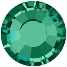 Rose Hotfix Rhinestone lead free ss20 Emerald HF