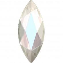 Marquise Hotfix Rhinestone 14x6mm Crystal AB HF