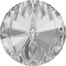 Rivoli Button 16mm Crystal F
