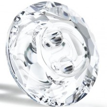 Maxima Button 2 hole 12mm Crystal F