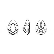 Maxima Pearshape 301 8x6mm Crystal F