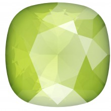 Round Square 10mm Crystal Lime