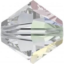 Xilion Bead 4mm Crystal AB