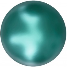 Crystal Round Pearl 12mm Crystal Iridescent Tahitian Look Pearl