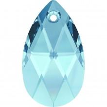 Pear-shaped Pendant 22mm Aquamarine