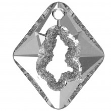 Growing Crystal Rhombus Pendant 36mm Crystal