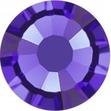 Rose Rhinestone Hotfix ss10 Purple Velvet HF