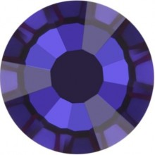 Rose Rhinestone Hotfix ss20 Crystal Meridian Blue HF