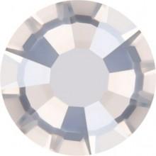 Rose Rhinestone Hotfix ss30 Crystal Silver Shade HF