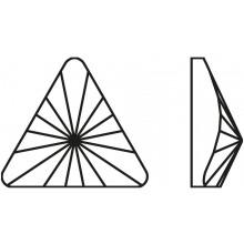 Rivoli Triangle Hotfix 5mm Crystal AB HF