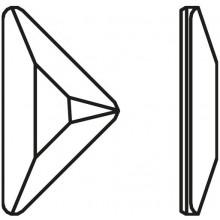 Triangle Gamma Hotfix 11x6.3mm Crystal AB HF
