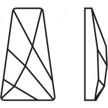 Wing Hotfix 6x3.5mm Crystal HF