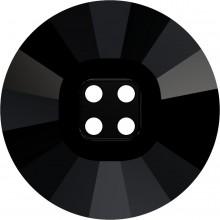 4 Hole Rivoli Button 23mm Jet