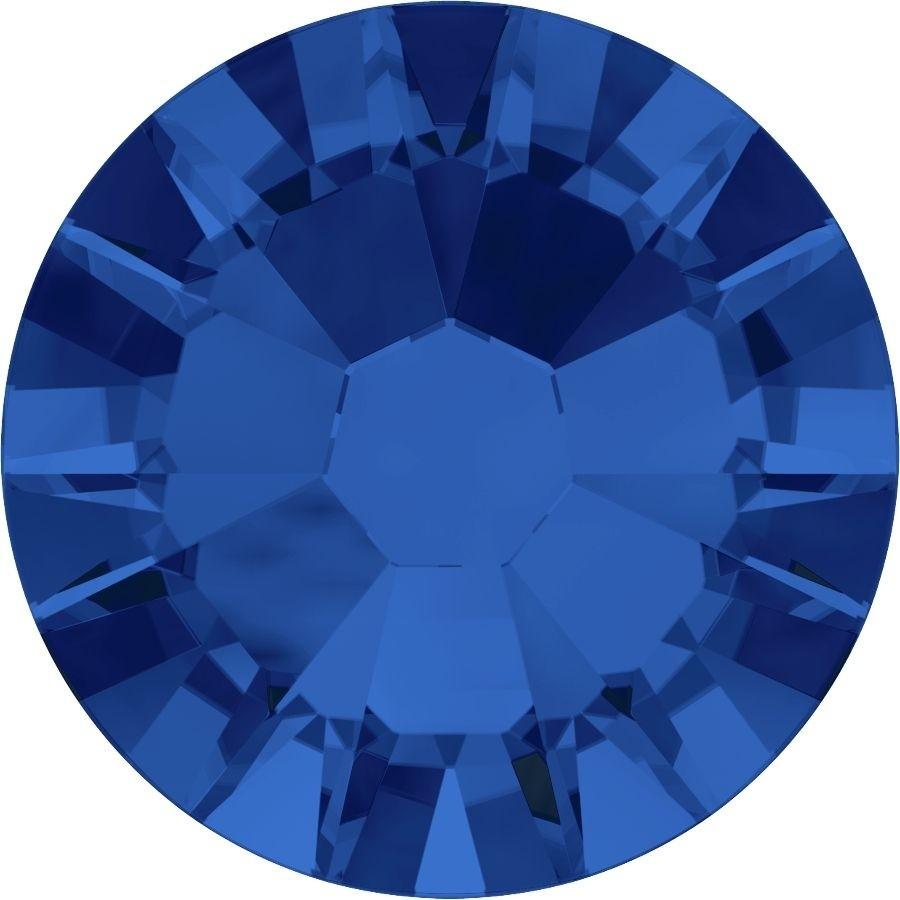 Xilion Rose Rhinestone ss10 Capri Blue F