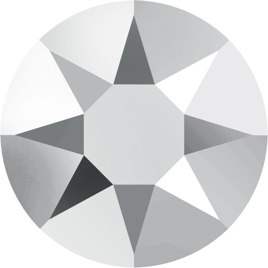 Xirius Rose Hotfix Rhinestone ss34 Crystal Light Chrome HF