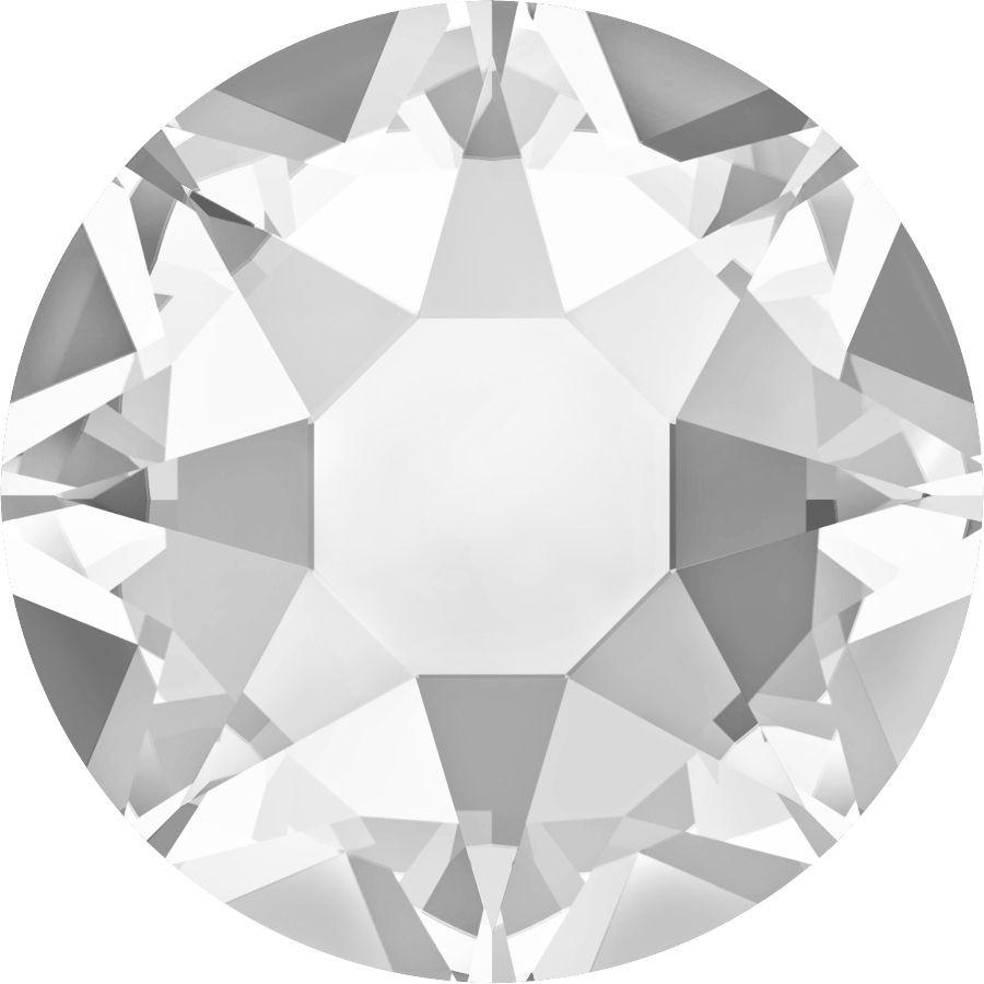 Xirius Rose Hotfix Rhinestone ss34 Crystal HF