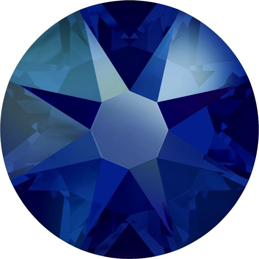 Xirius Rose Rhinestone ss30 Cobalt Shimmer F