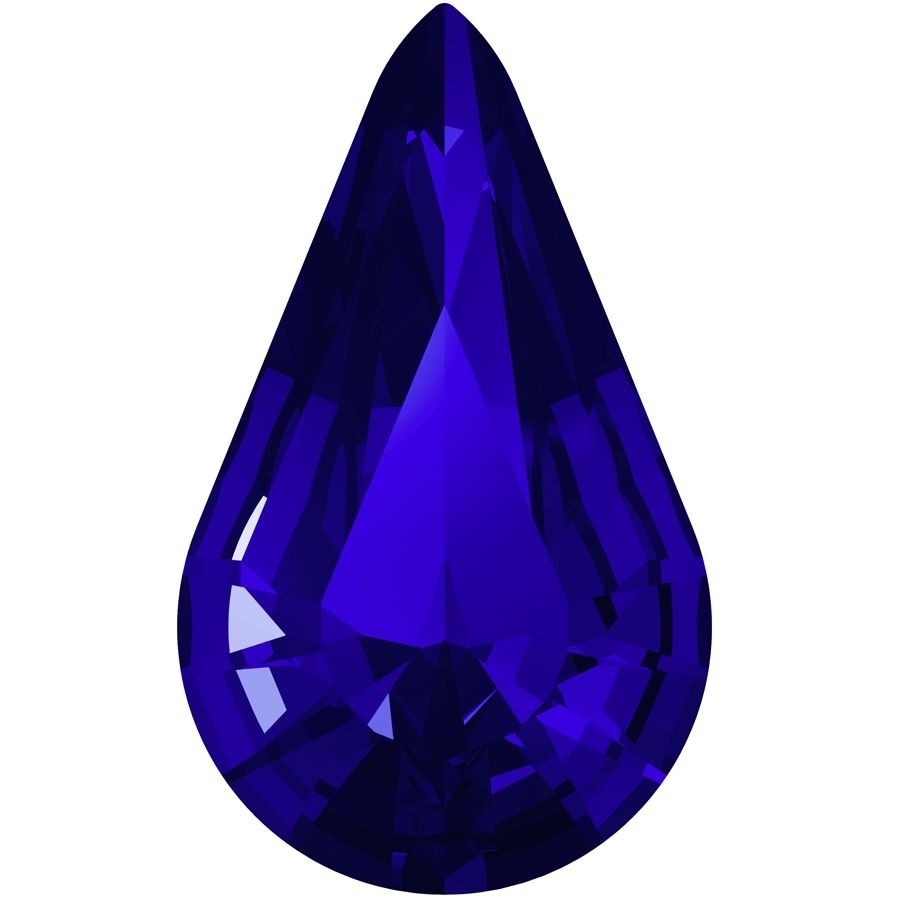 Xilion Pear 10x6mm Majestic Blue F