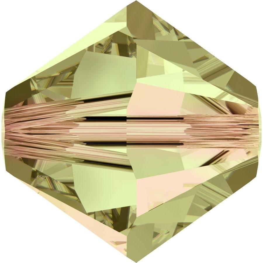 Xilion Bead 4mm Crystal Luminous Green